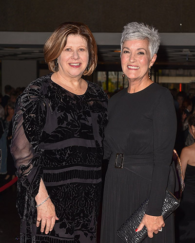 NAC Foundation Board Chair Janice O'Born and CEO Jayne Watson at the NAC Gala